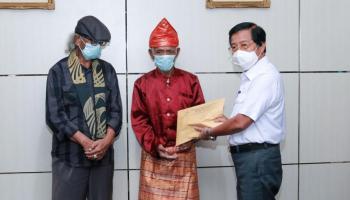 Membanggakan, Dua Maestro Seni Babel Terima Anugerah Kebudayaan Indonesia