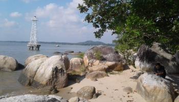 Menikmati Keindahan Pantai Batu Bedaun, Tak Cukup Hanya Sehari Berkunjung