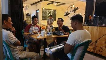 Menjamurnya Cafe dan Kedai Kopi Tingkatkan Budaya Nongkrong di Pangkalpinang