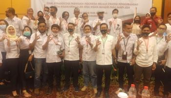 Menparekraf RI Wishnu Tama Buka Rakernas Masata I Bandung, PT Telkom Luncurkan Aplikasi App Masata