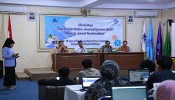 Menuju Jurnal Akreditasi, FH UBB Gelar Workshop Tata Kelola OJS