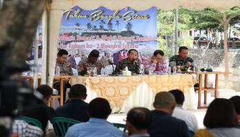 Menuju Tahun Kedua Kepemimpinan, Bupati Bangka Minta Dikritik Media