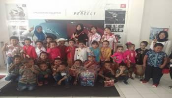 Meriahkan Hari Kartini, PT Asia Surya Perkasa Toboali Gelar Lomba Fashion Show Tingkat TK