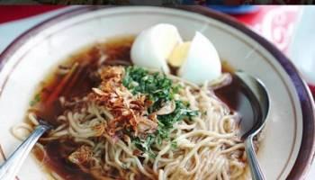 Mie Kuah Ikan menjadi salah satu Sajian Kuliner Khas Bangka Selatan