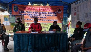 MIK Pasien Kedua Positif Covid-19 Di Kabupaten Bangka