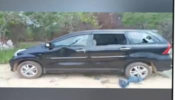 Mobil Dinas Wagub Babel Dirusak Oknum Warga Di Belitung