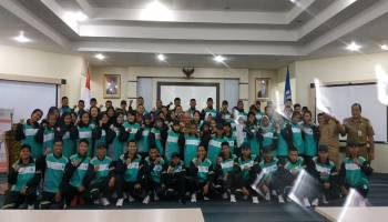Molen Beri Motivasi 71 Atlet Pangkalpinang di Kejurda Pelajar Babel 2019