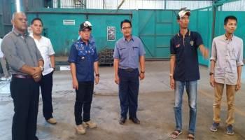 Molen Harap Smelter di Pangkal Pinang Kembali Beroperasi