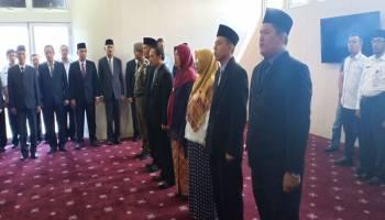 Molen Lantik 6 Pejabat Administrator dan Pejabat Pengawas Pemkot Pangkal Pinang