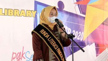 Monica Haprida Aklil Jabat Bunda Literasi Pangkalpinang, Ini Harapannya