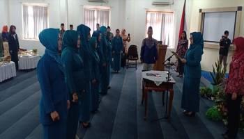 Monica Haprinda Lantik Pengurus TP PKK Kecamatan