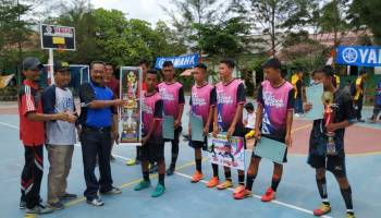 MTS Negeri Bangka Rebut Juara 1 di Turnamen Futsal SMK Muhammadiyah Sungailiat Cup II 2020