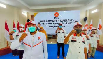 Muhammad Dilantik Sebagai Ketua DPD PKS Pangkalpinang Periode 2020-2025