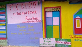 Museum Kata Andrea Hirata, Memaknai Karya Sastra di Tempat Penuh Warna
