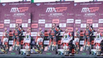 MXGP 2018 Pangkalpinang: Juara 1 di Race 2 MXGP, Herlings Jaga Asa Menuju Juara Dunia