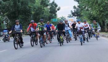 Natak Kampoeng, Gubernur dan Wali Kota Bersepeda Keliling Pangkalpinang
