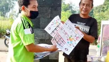 Natak Pasar, Cara KPU Basel Tingkatkan Partisipasi Masyarakat Gunakan Hak Suara