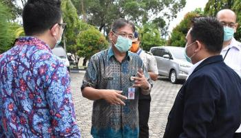 National Hospital Survei Test Swab Covid-19 Mandiri di Bangka Belitung