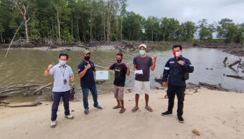 Nelayan Desa Tanjung Niur Akhirnya Miliki Tambatan Perahu yang Aman