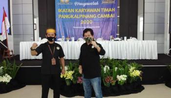 Ode Terpilih Sebagai Ketua IKT Wilayah Pangkalpinang Periode 2020-2023