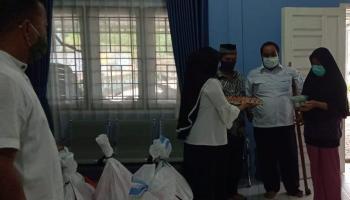 ODP di Petaling Banjar Terima Bantuan Dari JPN Provinsi