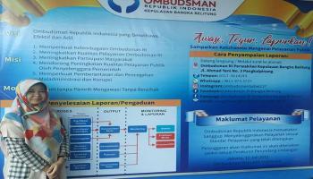 Ombudsman Babel Buka Posko Pengaduan PPDB Tahun 2020