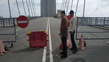 Ombudsman Babel Pantau Kondisi Jembatan Emas, Minim Pengamanan hingga Informasi Buka Tutup Yang Tak Jelas