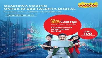 Ooredoo Digital Camp (IDCamp) Cetak 10.000 Developer Muda Bersertifikasi Global