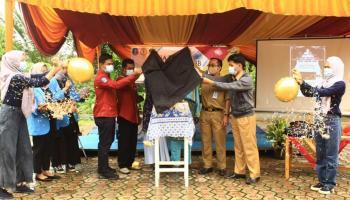 "Ormawa KM FE UBB Bersama Disperindag Babel Launching ""Madu Kampoeng"" Desa Pebuar"
