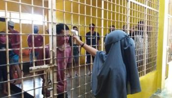 Overload hingga 57 Orang, Polres Bateng Pindahkan Tahanan ke Rutan Polsek