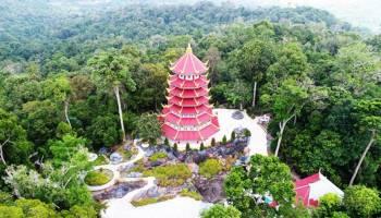 Pagoda Nusantara Miliki Keindahan Seperti di Negeri Tirai Bambu
