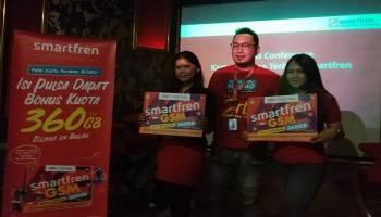 Pakai Smartfren Kartu Perdana BosKu, Bisa Dapat Total Kuota 360 GB