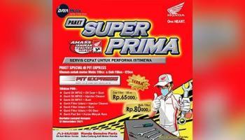 Paket Service Super Prima Ahass Daya Motor Koba