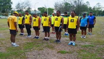 Pamen Korem 045/Gaya Laksanakan Tes Garjas Periodik II 2019