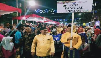 Pangkal Pinang Meriahkan Pawai Budaya Rakernas Apeksi XIV di Semarang