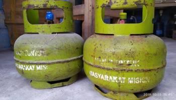 Pangkalan Gas Elpiji 3 Kg Wajib Jual Sesuai HET