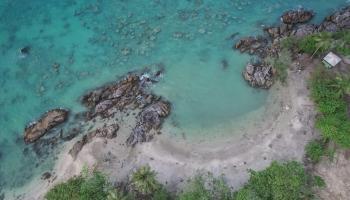 Pantai Punggur, Pantai Yang Tersembunyi Diujung Desa Mapur