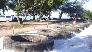 Pantai Sumur Tujuh Perpaduan Alam dan  Sejarah