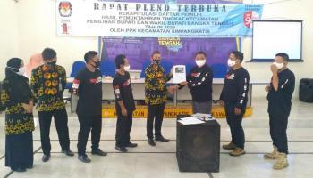Panwaslu Kecamatan se-Bateng Awasi Rapat Pleno Terbuka DPHP Tingkat Kecamatan