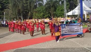 Parade Foto  Kemeriahan Pembukaan Kegiatan Apresiasi GTK PAUD dan Dikmas Berprestasi Tingkat Nasional Tahun 2019