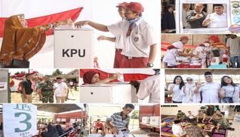 Parade Foto Pesta Demokrasi Pemilu 2019 di Bangka