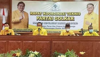 Partai Golkar Babel Gelar Rakornis, BPJ: Kita Samakan Persepsi dan Frekuensi