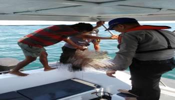 Pasang Pukat, Saidi Ditemukan Mengapung di Laut