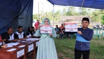 Pasangan Mulkan-Syahbudin Menang Telak Di Seluruh TPS Desa Karya Makmur