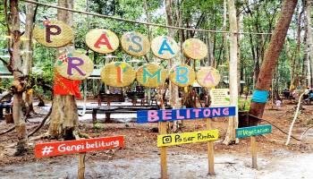 Pasar Rimba Destinasi Digital yang sedang Hits di Belitung
