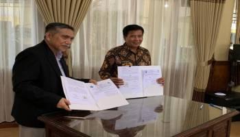 Pasarkan Gaharu Lokal, Pemkab Bateng Jalin MoU Dengan Investor Luar Negeri