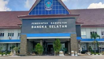 Pasca Unjuk Rasa Nelayan Tolak PIP Tanjung Kubu, Halaman Kantor Bupati Basel Tampak Lengang