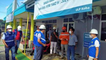 Pastikan Kesiapan Hadapi Lebaran, GM PLN Babel Cek Instalasi Kelistrikan di Bangka