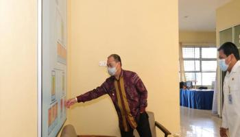 Pastikan Pelayanan Prima, Gubernur Sidak Kantor Samsat Tanjungpandan