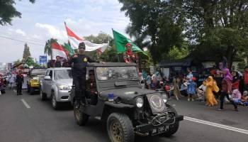 PDPM Pangkalpinang Kenalkan Kokam Pada Pawai HUT Kemerdekaan ke-74 RI